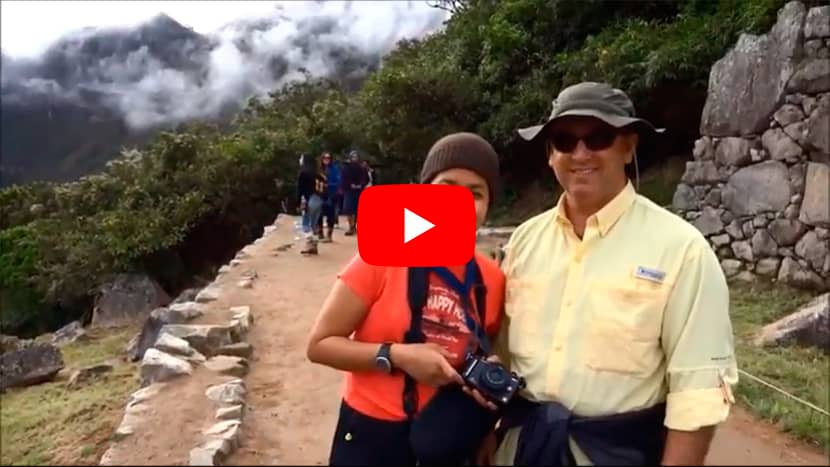2 day Short Inca Trek Video