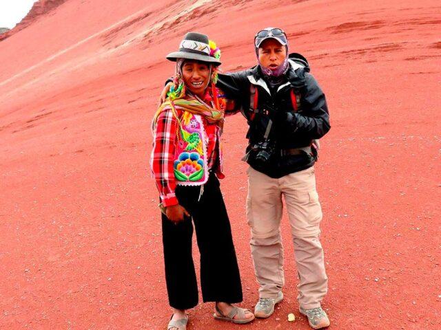 Red valley tour Peru