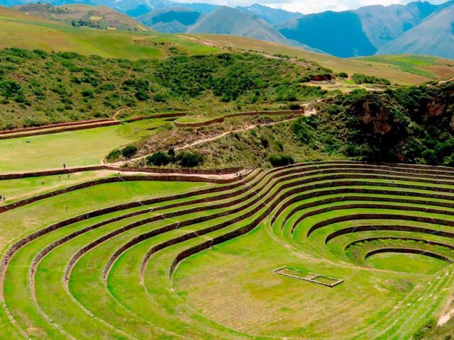 Mysterious Moray Agricultural Terraces